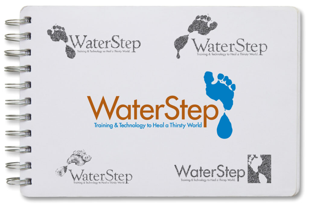 Branding materials for WaterStep