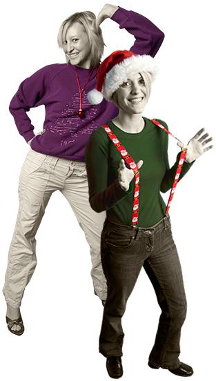 Laura/Ashley holiday sweater