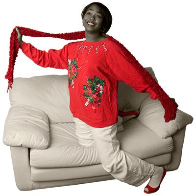 Mel's Holiday Sweater