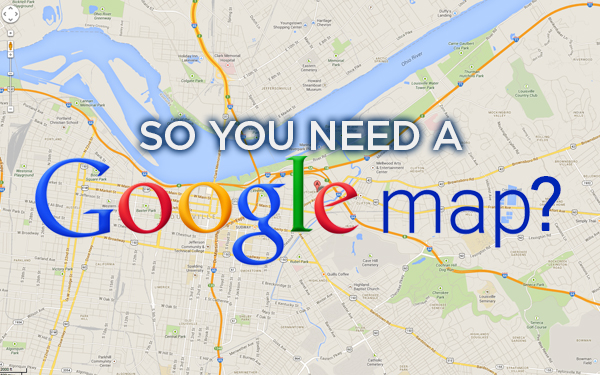 Google Map blog