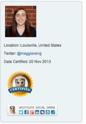 Maggie credentials