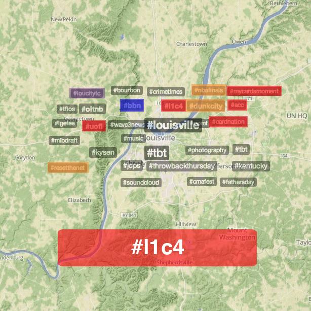06:05:14 8PM EST Louisville Twitter Trends