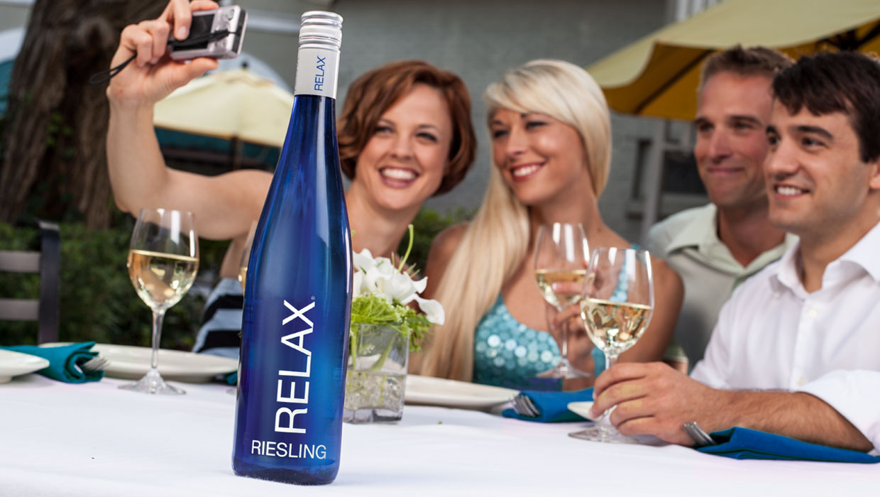 Current360 Relax wines courtyard