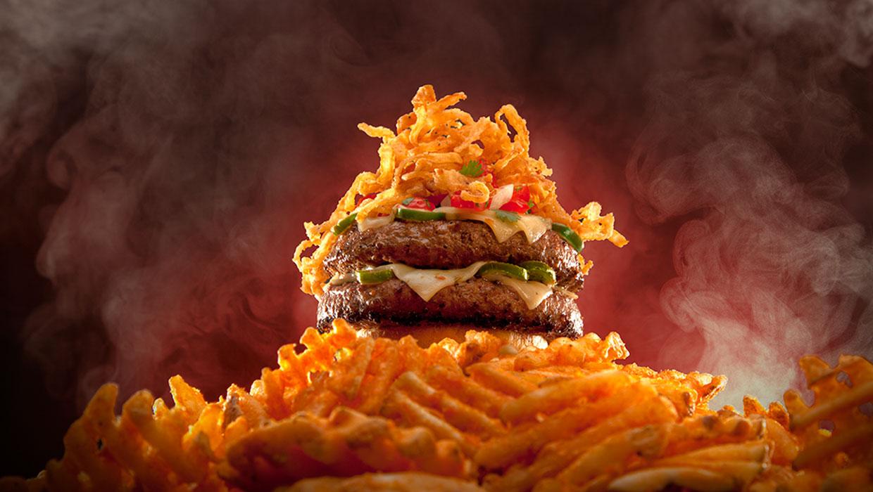 tumbleweed en fuego burger
