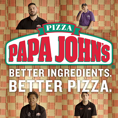 "Papa ""John's Pizza Art"""