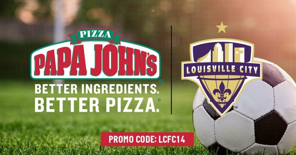 Papa John's LCFC Social Post