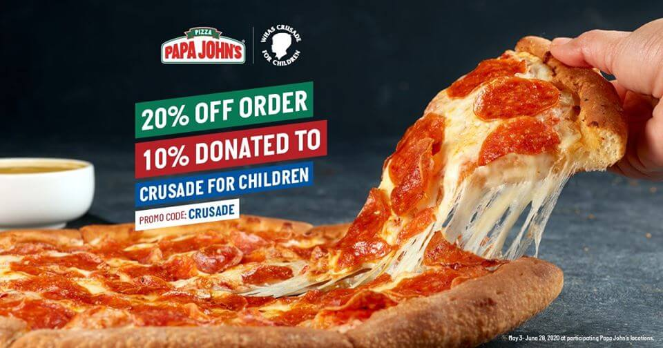 Papa John's Crusade For Children