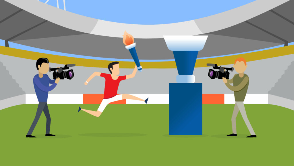 Olympic ratings and what they mean for you hero image cameras and torch relay